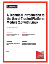 A Technical Introduction to the Use of Trusted Platform Module 2 0