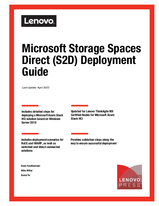 Microsoft Storage Spaces Direct (S2D) Deployment Guide