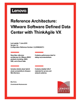 Reference Architecture: VMware Software Defined Data Center